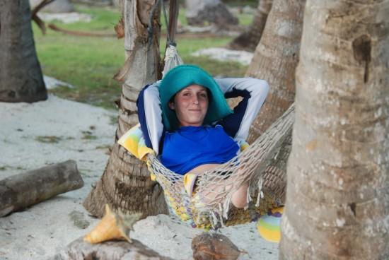A Danni in A hammock!